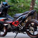 Inilah Gambar Modifikasi Yamaha MX King 150 Tampilan Gahar
