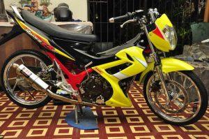 modifikasi Suzuki satria fu terbaru dan keren