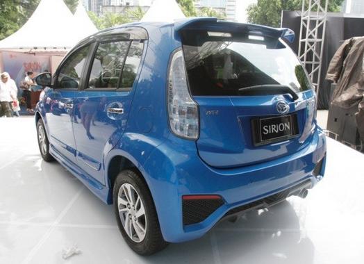 Eksterior Daihatsu Sirion Terbaru 2016