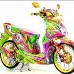 Koleksi Modifikasi Motor Honda Beat Terbaru dan Terkeren