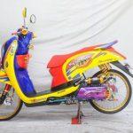 Koleksi Gambar Modifikasi Motor Honda Scoopy Terbaru