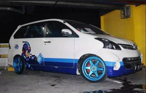 modifikasi mobil avanza veloz putih